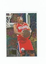 1995-96 FLEER METAL JERRY STACKHOUSE #R8 ROOKIE ROLL CALL SIXERS NM-MINT!