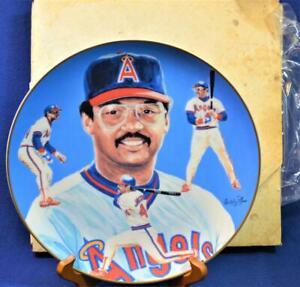 "NIB 1983 HACKETT AMERICAN California Angels REGGIE JACKSON-MR OCTOBER 10""d Plate"