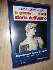 DVD N° 16 LA GRANDE STORIA DELL'UOMO MICHELANGELO L'UOMO E L'ARTISTA
