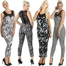 Polyester Paisley Petite Jumpsuits & Playsuits for Women