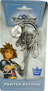 Kingdom Hearts Riku Sword Keyblade Pewter Key Ring Keychain Official Licensed