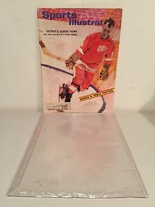 VINTAGE SPORTS ILLUSTRATED MAGAZINE MARCH 16 1964 GORDIE HOWE GOOD CONDITION!