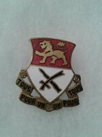 Authentic US Army 15th Cavalry Regiment DI DUI Unit Crest Insignia NH