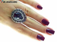 Turkish Traditional Jewelry 925 Silver Handmade Ruby EL Sultan Ring Size 8 C12