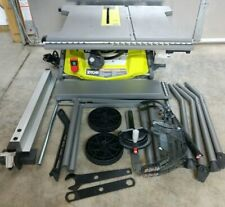 "RYOBI 10"" Table Saw w/ Rolling Stand Model# RTS23"