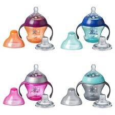 Tommee Tippee First Sips Soft Transition Cup, Gentle on Gums, Spill-Proof,...