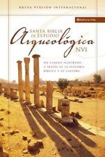 Santa Biblia de estudio arqueológica NVI (Spanish Edition) by Zondervan