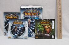 World of Warcraft 2 CD Disc PC Computer Game Wrath of Lion King Burning Crusade