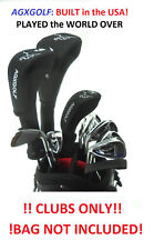 "TALL +1.5"" MENS LEFT HAND COMPLETE GOLF CLUB SET wDRIVER+3-9 IRONS+PW+PUTTER"