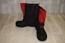 Tundra Quebec Boots - Big Boys Size 4 - Black/Red NEW!
