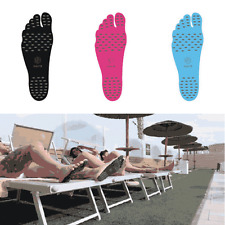 Pair of Beach Invisible Thermal Insulation Anti-slip Foot Insoles