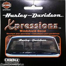 harley davidson motorcycle bike Front Window decal sticker bar & shield ride HD