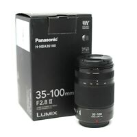 Panasonic Lumix G X Vario 35-100mm f2.8 II POWER O.I.S. UK NEXT DAY DELIVERY