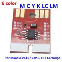 Generic MCYKLCLM Chip Permanent for Mimaki JV33 / CJV30 ES3 Cartridge
