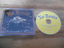 CD Pop No Doubt - Underneath It All (2 Song) Promo INTERSCOPE sc