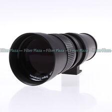 420-800mm F/8.3-16 Telephoto Zoom Lens+T Mount for Pentax PK K3 K5 K7 K20D K200D