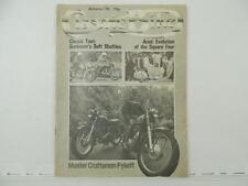 Vintage 1978 CLASSIC BIKE Magazine Sunbeam Ariel Square Four Moto Guzzi L6303
