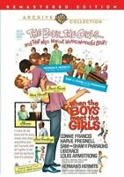 When the Boys Meet the Girls (1965 Connie Francis) DVD NEW