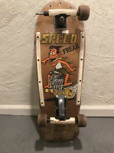 Vintage 80's Variflex Speed Freak Skateboard