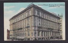 USA 1900's CLAYPOOL HOTEL IN INDIANAPOLIS INDIANA POSTCARD UNUSED