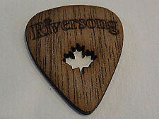 RIVERSONG WOODEN GUITAR PICKS 1.50 MM WALNUT POWER Pick MADE IN CANADA 4 PICKS