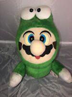 Super Mario All Stars Frog Mascot Plush Doll Toy Figure Banpresto 1993 Japan