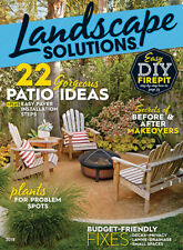 Landscape Solutions 2018 Gardening Growing Outdoor Living Meredith Special