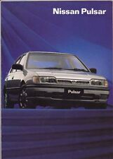 1992 NISSAN N14 PULSAR Range Australian 16 Page Brochure Q SSS Like SUNNY SENTRA