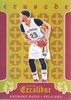 2015-16 Panini Excalibur Crusade Red #77 Anthony Davis 039/149 Pelicans