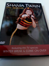 "SHANIA TWAIN ""THE SPECIALS"" DVD WINTER BREAK & COME ON OVER"