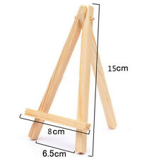 10pcs/pack Mini Artist Wooden Easel Wood Wedding Table Stand Display Holder Card