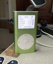 New ListingApple iPod mini 2nd Generation Green (4 Gb) Fully Tested!