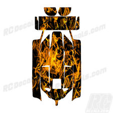 Losi 8IGHT 2.0 RC Graphic Kit Decal Wrap 1/8 Buggy Body Orange Flames