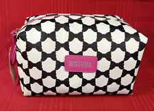 Kenneth Cole Reaction Mulberry Shadow Box Travel Makeup Toiletry Pouch Case NWT