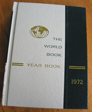 The World Book Year Book Encyclopedia 1972 Review of Events