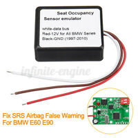 Passenger Seat Occupancy Mat Bypass For BMW E90 E60 Sensor Emulator US ! f p