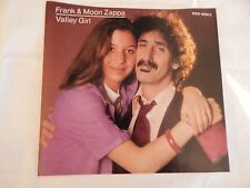 """Frank & Moon Zappa """"Valley Girl"""" PICTURE SLEEVE! NEW! MINT! ABSOLUTELY PERFECT!"""