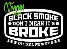 Tool Box Sticker Transfer /Vinyl Wall Art Decal Graphic Funny diesel power smoke