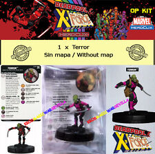 HEROCLIX MARVEL DEADPOOL & X-FORCE OP KIT  - Terror (sin mapa / without map)