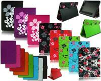NEW FLOWER PRINT LEATHER TABLET FLIP STAND CASE COVER FOR APPLE I PAD AIR 5