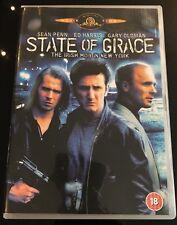 State of Grace Pal Region 2 Europe Phil Joanou Sean Penn Ed Harris Gary Oldman