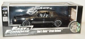 """Jada Fast & Furious Dom's Buick Grand National Special Edition 1/18 """"MIB"""""""