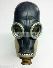 soviet russian black rubber gas mask GP-5 size 2 MEDIUM