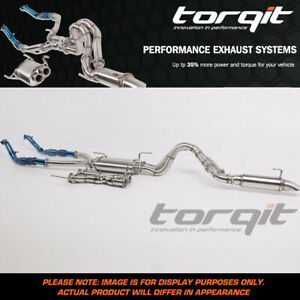 Torqit Stainless Exhaust For Ford Ranger 3.2L TDCI (DPF Model) PXII/PXIII 08/201