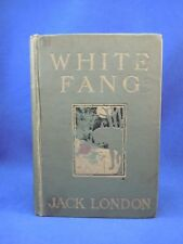 WHITE FANG by Jack London True 1st Edition First Issue (sewn-in title page) 1906
