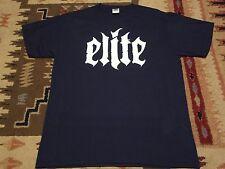 ELITE logo SHIRT L,Vredehammer,Hell Militia,Antaeus,Aosoth,Temple Of Baal,Ulver