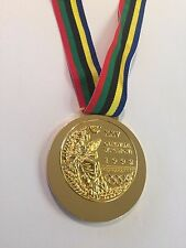 Barcelona 1992 SPAIN SUMMER OLYMPICS SOUVENIR GOLD MEDAL RARE GIFT SOUVENIR!!!