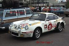 Henri Toivonen Porsche Carrera 1000 Lakes Rally 1978 Photograph 2