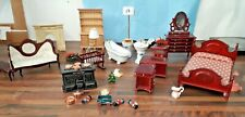 Collection of Doll's  house furniture HAR
