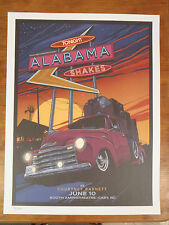 ALABAMA SHAKES  2015 CARY NC POSTER LTD ED not cd vinyl shirt